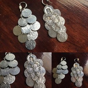 Jewelry - Adorable coin linked earrings. Light weight too.